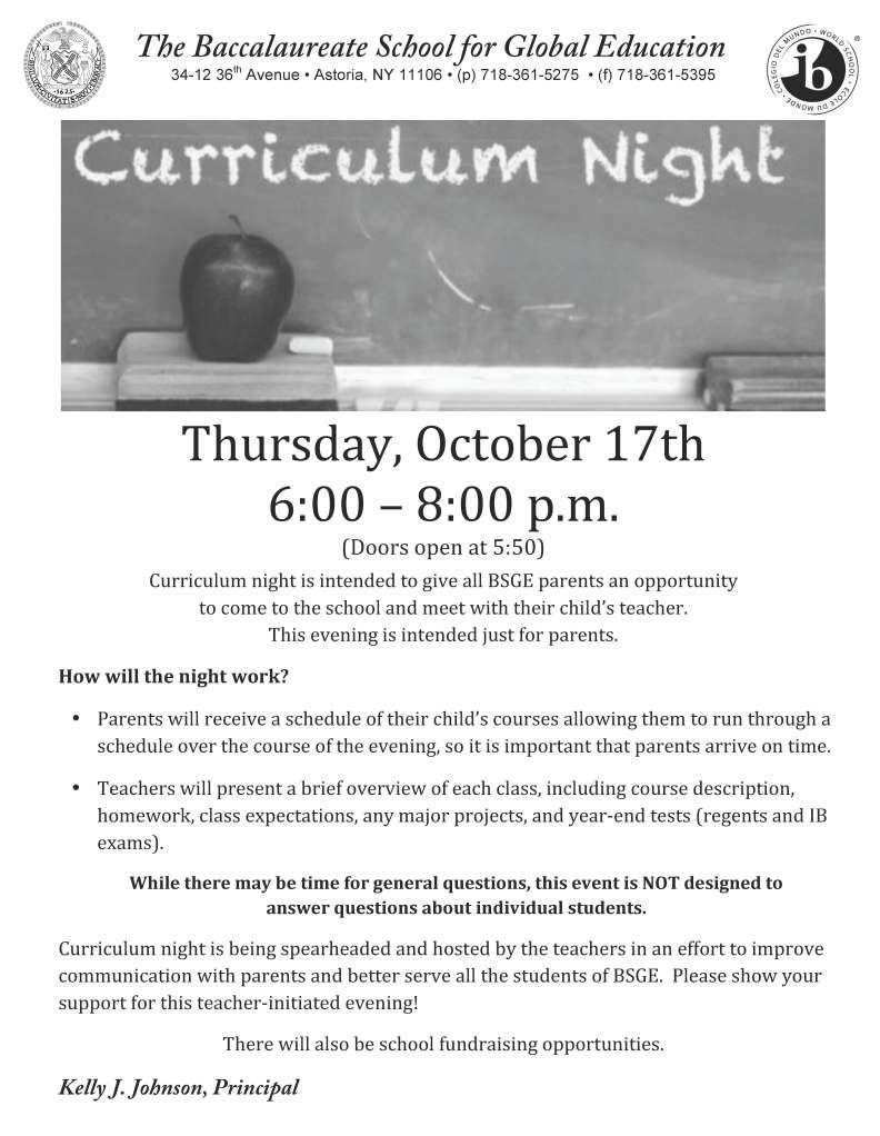 2013_Curriculum_Night_Flyer
