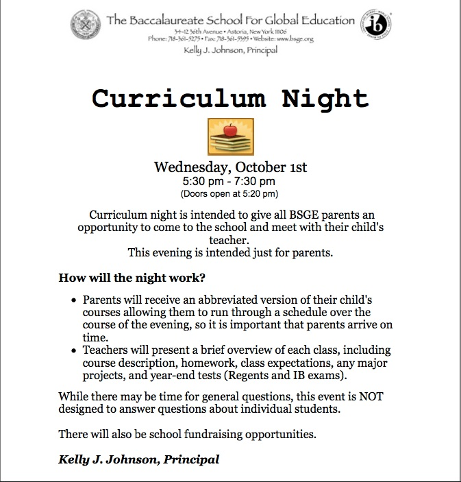 Curriculum Night copy