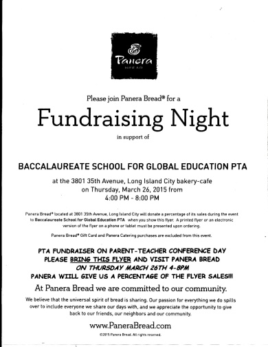 PTA Panera Fundraiser Flyer copy 2