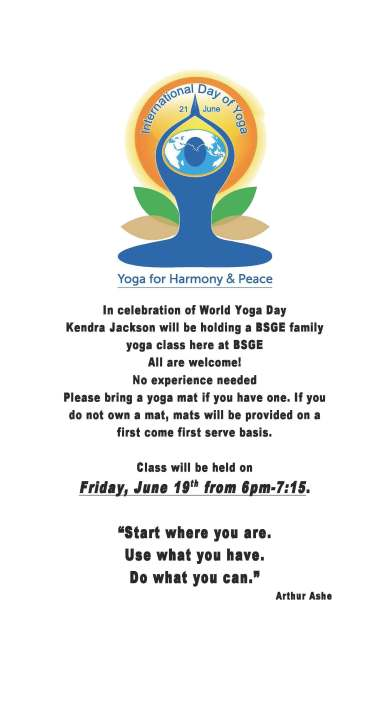 World Yoga Day 2015